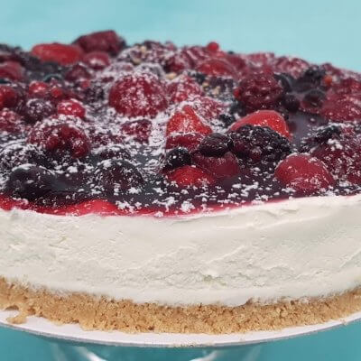Fruits of the Forest Cheesecake