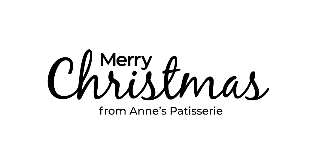 Anne's Patisserie Christmas Banner Message