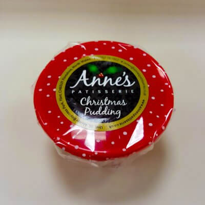 Anne's Patisserie Christmas Pudding