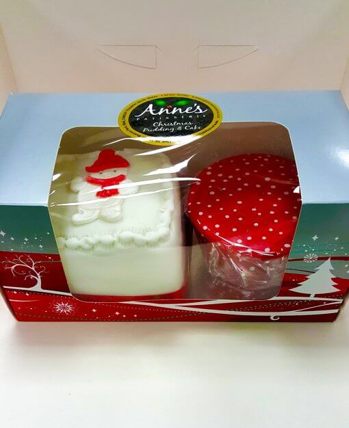 Anne's Patisserie Christmas Pudding & Cake Set